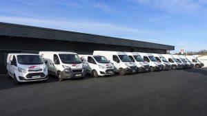 Flotte de véhicules Saintonge Coursier